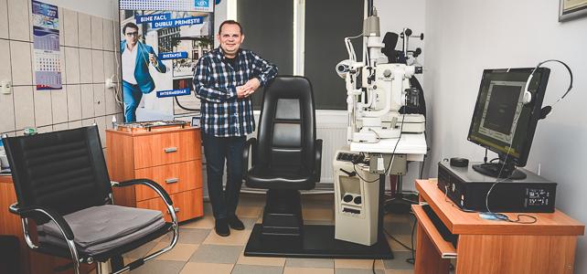 Consultatii oftalmologice - Cabinet oftalmologic Optica Dr Pirga Slobozia